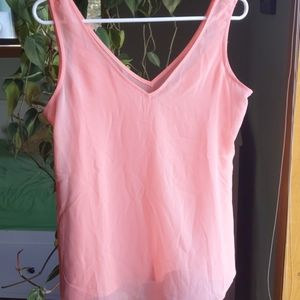 WHBM convertible coral camisole, Size XS